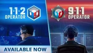 Sélection de jeux en promotion sur PC (Dématérialisés) - Ex: 911 Operator à 1.49€