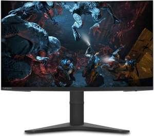 """Écran PC 31.5"""" Lenovo G32QC-10 - QHD, 144 Hz, Dalle VA, Incurvé, 4 ms, FreeSync, Pied réglable (+20 € sur le compte fidélité)"""