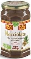 Pot de pâte à tartiner sans huile de palme Nocciolata Rigoni di Asiago Bio (900g)