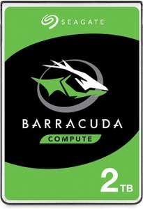 "Disque dur interne 2.5"" Seagate BarraCuda - 2 To, 5400 tr/min (ST2000LMZ15)"