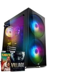 PC Gaming Agando Agua 5667rx - Ryzen 5 5600X, RX 6700 XT, SSD NVMe 1 To, 16 Go de RAM, Windows 10 Pro