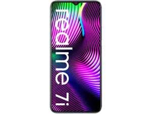 """Smartphone 6.5"""" Realme 7i - HD+, Helio G85, 4 Go de RAM, 64 Go de stockage"""