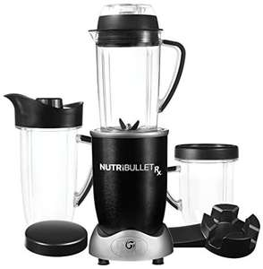 Blender chauffant Nutribullet NUTRI1700N - 1700W, Technologie Cyclonique, Extracteur de jus - Noir/Inox