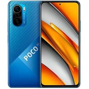 """Smartphone 6.67"""" Xiaomi Poco F3 - 128Go, 6Go de Ram - Bleu ( 269€ avec le code FROCT30)"""
