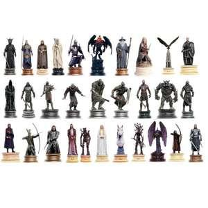Lot de 30 figurines Collector Eaglemoss Le Seigneur des Anneaux - Échelle 1/25 (Frais de port et de douane inclus