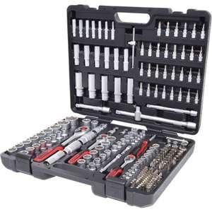 """Coffret à douilles KS Tools 1/4 """"+ 3/8"""" + 1/2 """"- 195 pièces"""