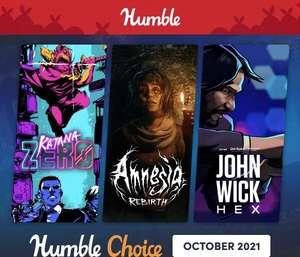 Humble Bundle Choice Octobre 2021 : Katana Zero + 11 Jeux sur PC (Dématérialisé - Steam)