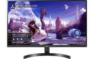 Écran PC 31.5'' LG 32QN600-B - WQHD (2560 x 1440), IPS, 75 Hz, 5 ms, FreeSync