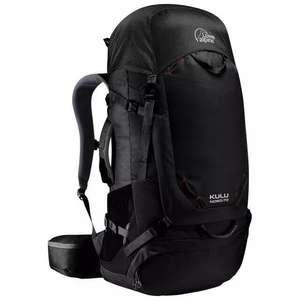 Grand sac à dos Femme Lowe Alpine Kulu ND 60:70 (Anthracite)