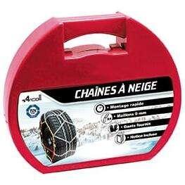 """Sélection de Chaines et Chaussettes Neige - Ex : Paire de chaînes neige Arcoll KN95 (14"""" à 17"""")"""
