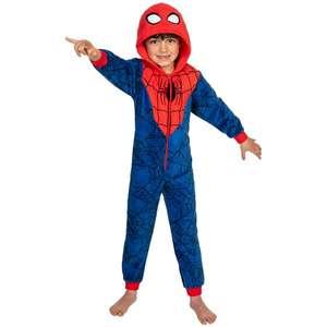 Combinaison / Pyjama / Kigurumi pour enfant - Taille 98 - 128 cm, Divers modèles (Spiderman, Pat'Patrouille, Lol...)
