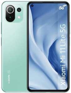 "Smartphone 6.5"" Xiaomi Mi 11 Lite 5G NE - 8 Go / 128 Go (via ODR 50€) + 65€ en Rakuten Points"