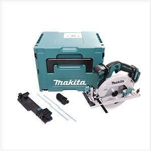 Scie circulaire sans fil Makita DHS680ZJ + Makpac + adaptateur pour rail (diamètre 165 mm, sans batterie / ni chargeur)