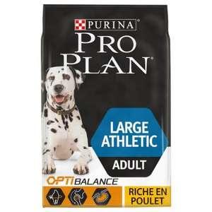 2 Sacs de croquettes Purina Pro Plan Large Athletic Adult poulet - 2x14Kg