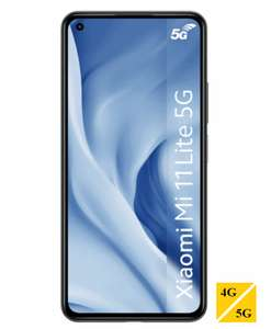 "Smartphone 6.5"" Xiaomi Mi 11 Lite 5G - Full HD+, Snapdragon 780G, 8 Go RAM, 128 Go ROM, 64 Mpx (Via 100€ de bonus reprise et 50€ d'ODR)"