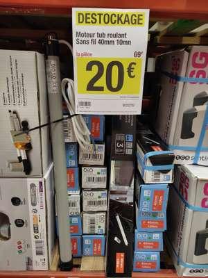 Moteur roulant sans-fil à télécommande (40 mm, 10 mn) - Cannes-Écluse (77)