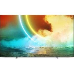 """TV 65"""" Philips 65OLED705 - OLED, 4K UHD, 100 Hz, HDR 10+, Dolby Vision, Android TV, Ambilight (Via 269.85€ sur la Carte de Fidélité)"""