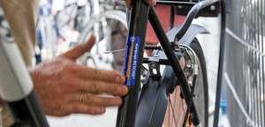 Opération marquage de vélo à Saint-Cyr l'Ecole (78)