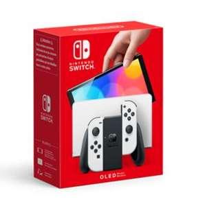 Console Nintendo Switch Oled - Noir ou Blanc (+30€ sur le Compte Adhérent)