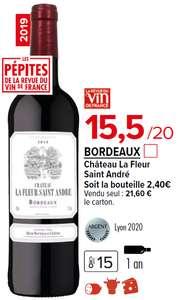 3 Cartons de 6 Bouteilles de Vin Bordeaux Château la fleur Saint-Andre