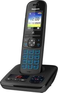 Téléphone Panasonic KX-TGH720 Solo (avec bloqueur d'appels publicitaires, noir) à 47€ ou Duo à 68€ - AntiDemarchage.fr