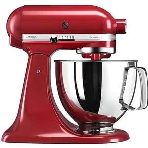 Robot de cuisine Kitchenaid Artisan 5KSM125EER - Crème/gris/rouge/noir