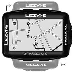 GPS Vélo/VTT Lezyne Mega XL