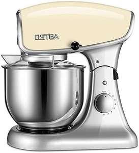 Robot de cuisine pâtissier Ostba - 8 vitesses, 5.2 L, 1200 W, jaune (vendeur tiers)