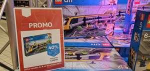 Lego City : Le Train de passagers télécommandé 60197 (Via 51.99€ sur Carte Fidélité) - Kirchberg (Frontaliers Luxembourg)