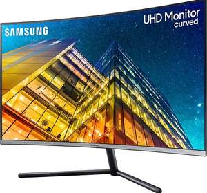 "Ecran PC 32"" incurvé Samsung LU32R590CWRXEN - 3840 x 2160, 4K UHD, 60 Hz, Dalle VA, 4 ms"