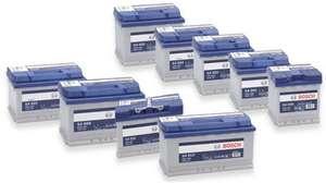 Batterie de voiture Bosch - Différents modèles (via 21€ sur la Carte de Fidélité)
