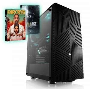 PC Gamer - Ryzen 5 5600 X, AMD RX 6700XT (12 Go), 16Go RAM (3200 MHz), 500Go SSD NVMe, B450 Tomahawk, Alim BeQuiet! 600W 80+ Gold + 2 jeux