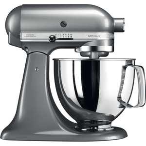Robot pâtissier KitchenAid Artisan 5KSM175PS - 4.8 L, 300 W, gris argent