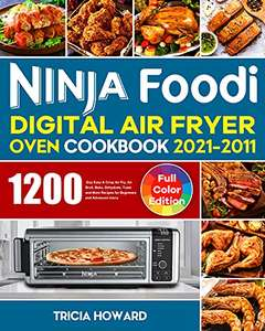 Sélection d'E-Books de Cuisine Gratuits - Ex: Ninja Foodi Digital Air Fryer Oven Cookbook 2021-2022 (Dématérialisé Kindle - Anglais)