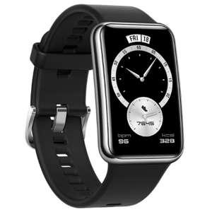 Montre connectée Huawei Watch Fit - Elegant Edition, Noir (Via ODR de 30€)