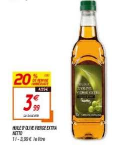 Huile d'olive extra vierge - 1L, origine Espagne
