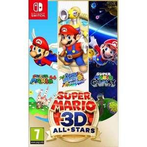 Sélection de jeux en promotion - Ex: Super Mario 3D-All Stars Edition Limitée sur Nintendo Switch