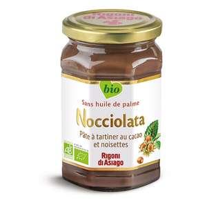 Pot de pâte à tartiner Nocciolata Rigoni di Asiago - Bio, sans huile de palme (270g)
