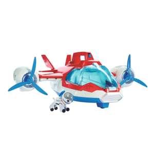 Jouet avion / hélicoptère interactif La Pat' Patrouille 2-en-1 - avec figurine