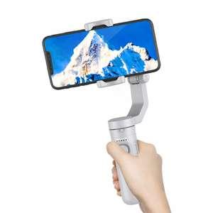 Stabilisateur 3 axes pour smartphone Axnen HQ3 - avec lumière pour selfie + télécommande + sac