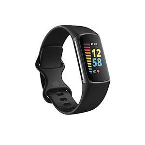 Bracelet connecté Fitbit Charge 5 - Noir + 6 mois d'abonnement à Fitbit Premium inclus