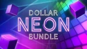 Dollar Neon Bundle : 13 Jeux PC pour 1.03€ (Dématérialisés - Steam)