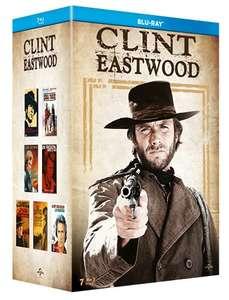 Clint Eastwood - Coffret 7 films Blu-Ray (Un Sherif à New York, Les Proies, Un Frisson dans la nuit, Joe Kidd, La Sanction, ...)