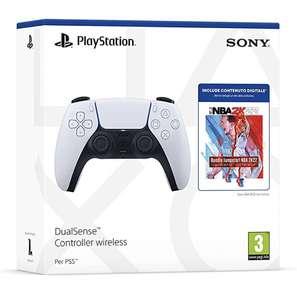 Manette sans Fil DualSense White + 3 packs MyTEAM (DLC) et 2 500 points MyTEAM pour NBA 2K22 sur PS5