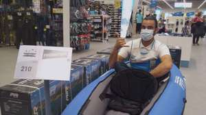 Kayak gonflable Aqua Marina Pure Air (avec pagaies + pompe) - La Garde (83)