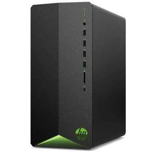 PC fixe HP Pavilion Gaming TG01-1042nf - Ryzen 5-4600G, RAM 8Go 3200MHz, SSD NVMe 128Go + HDD 1To 7200 tr/min, RX5500 4Go, Sans OS (ODR 75€)
