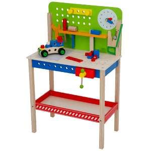 Jouet établi en bois Mini Matters - 54 pièces