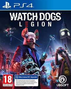 Jeu Watch Dogs Legion sur PS4 + Poster (Format A2)