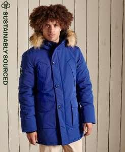 Doudoune Superdry Everest - Plusieurs coloris, Taille XS à 2XL (Vendeur Tiers)
