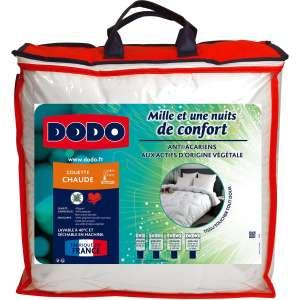 Couette chaude en microfibre anti-acariens Dodo Mille et Une Nuits - 140x200cm